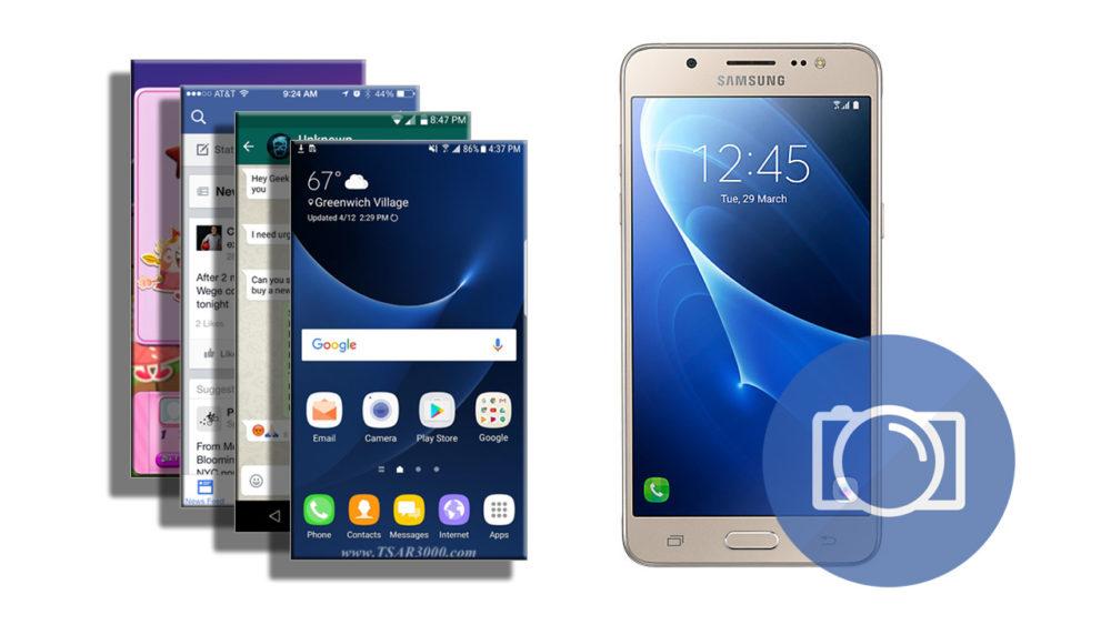 Take a Screenshot on Samsung Galaxy J5 2016