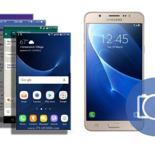 Take a Screenshot on Samsung Galaxy J7 2016