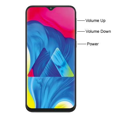 Samsung Galaxy M10 Hardware Buttons
