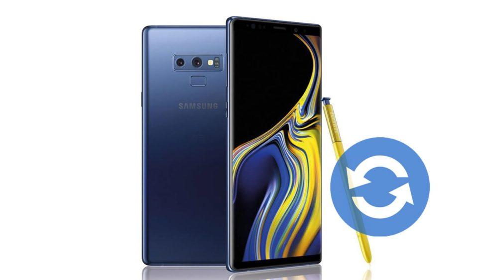 Update Samsung Galaxy Note 9 Software