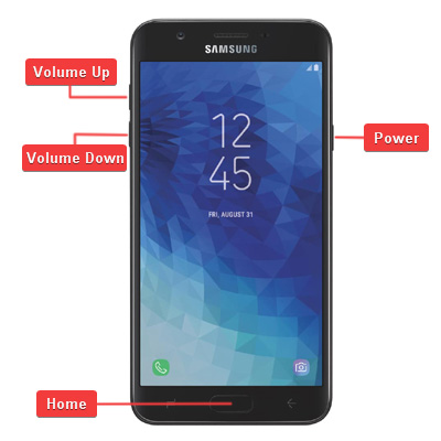 Samsung Galaxy J7 2018 Hardware Buttons