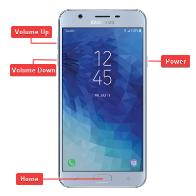 Samsung Galaxy J7 Star Hardware Buttons