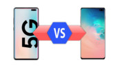 Samsung Galaxy S10 5G vs Samsung Galaxy S10 Plus