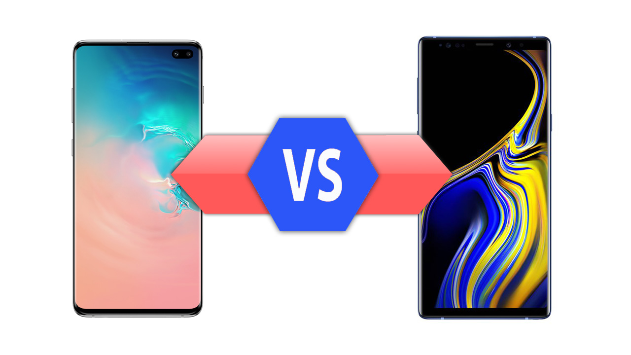 Samsung Galaxy S10 Plus vs Galaxy Note9 Specs