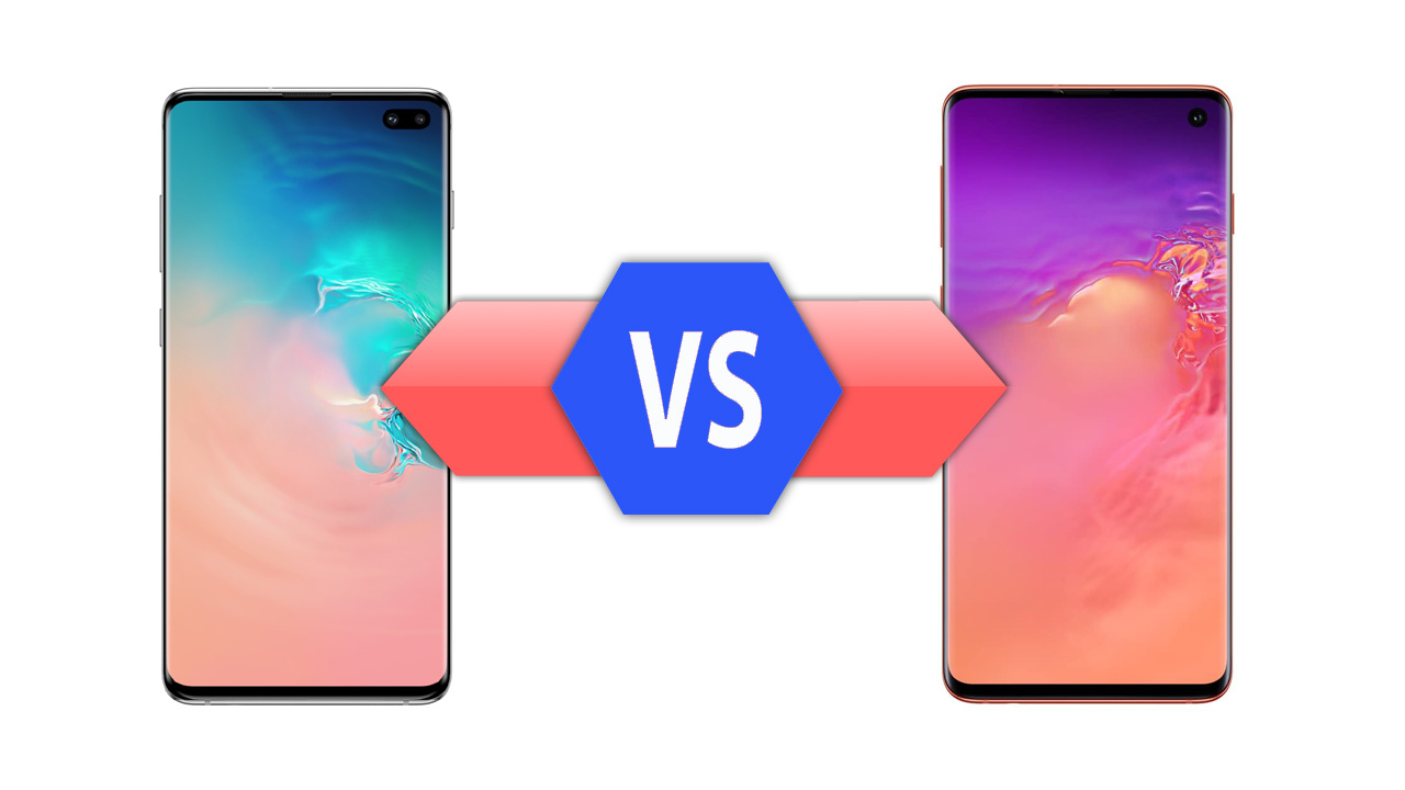 Samsung Galaxy S10 Plus vs Galaxy S10 Specs