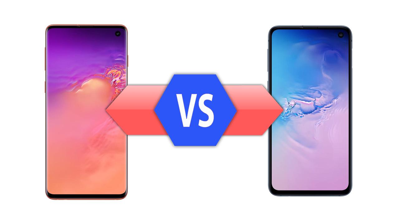 Samsung Galaxy S10 VS Galaxy S10e Specs