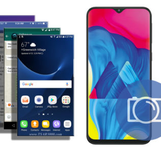 Take A Screenshot on Samsung Galaxy M10