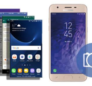 Take a Screenshot Samsung Galaxy J3 Star