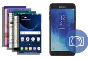 Take a Screenshot Samsung Galaxy J7 2018