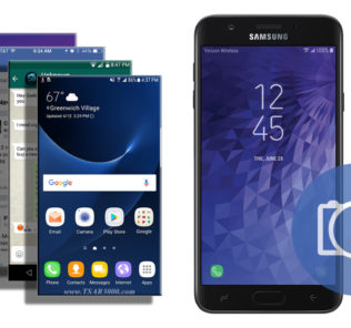 Take a Screenshot Samsung Galaxy J7 V Verizon
