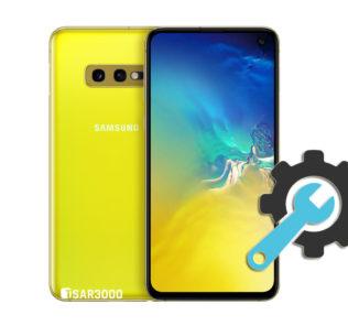 Factory Reset Samsung Galaxy S10e