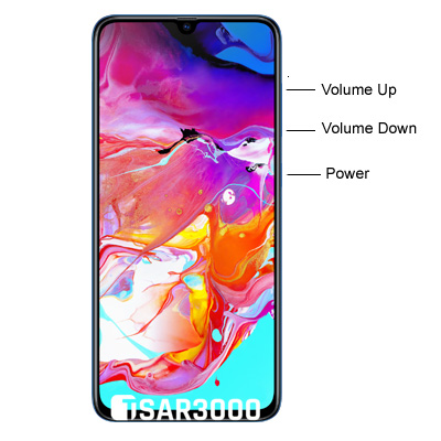 Samsung Galaxy A70 Hardware keys