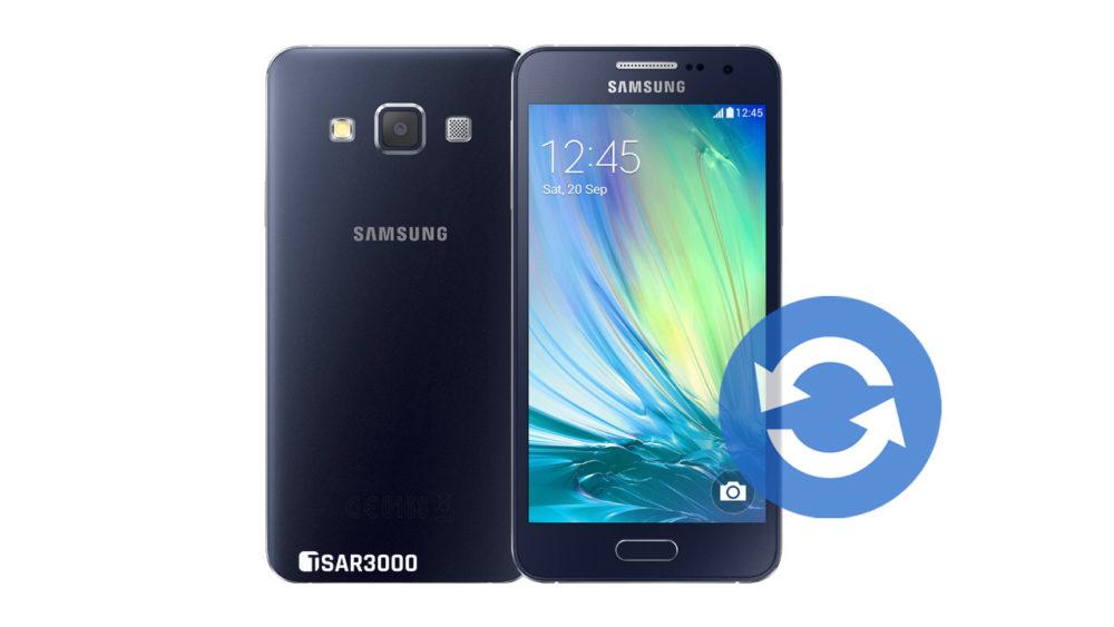 Update Samsung Galaxy A3 Software