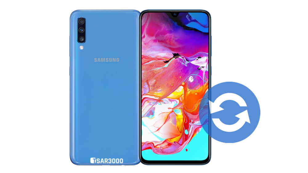 Update Samsung Galaxy A70 Software