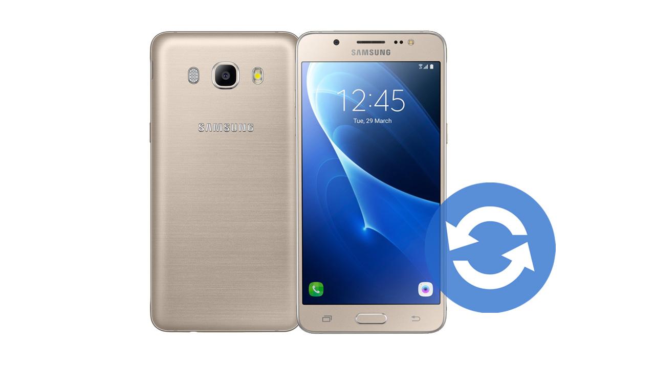 How To Update Samsung Galaxy J5 2016 Software Version ...