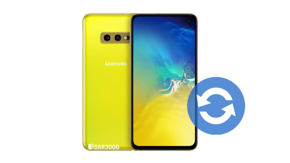 Update Samsung Galaxy S10e Software