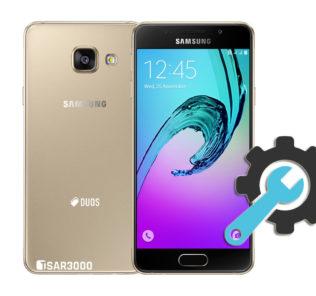 Factory Reset Samsung Galaxy A3 2016