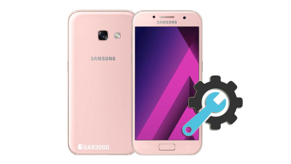 Factory Reset Samsung Galaxy A3 2017