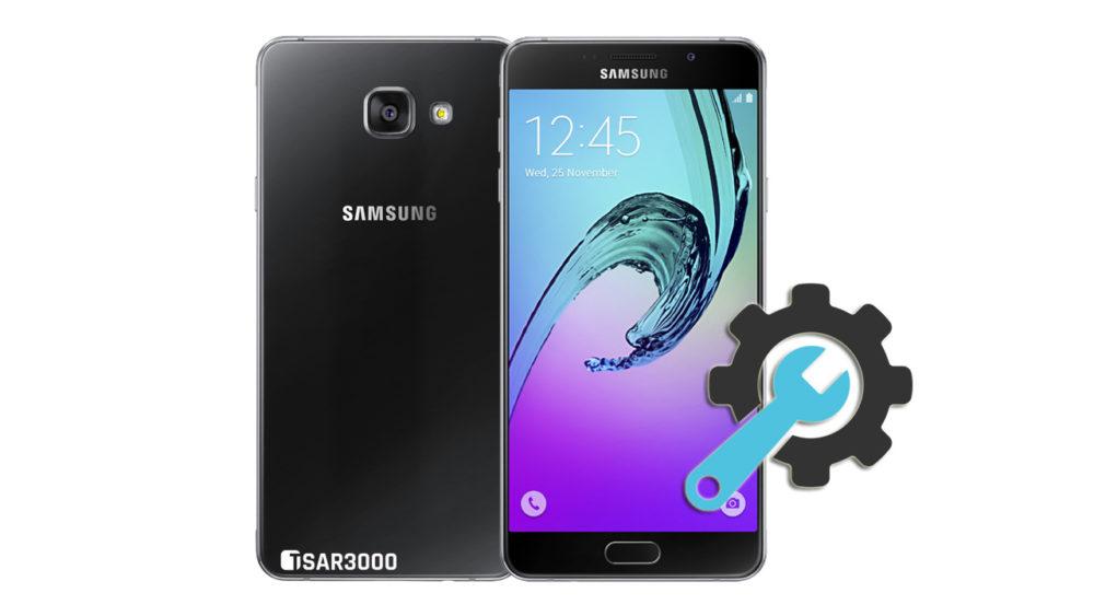 Factory Reset Samsung Galaxy A7 2016