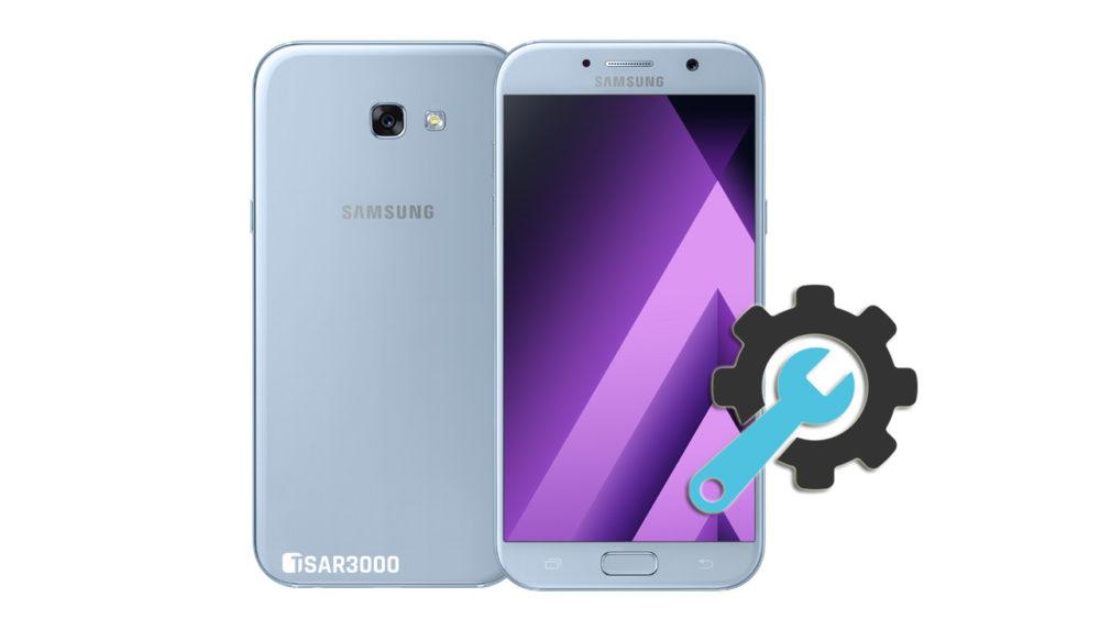 Factory Reset Samsung Galaxy A7 2017
