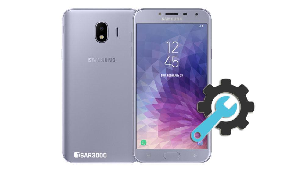 Factory Reset Samsung Galaxy J4