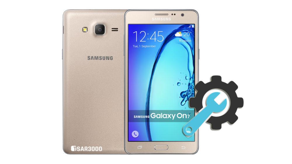 Factory Reset Samsung Galaxy On7