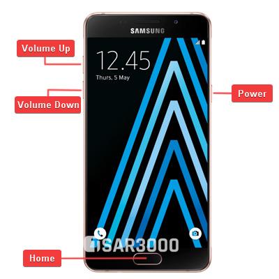 Samsung Galaxy A5 2016 Hardware Keys