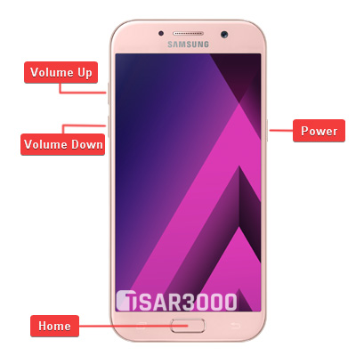 Samsung Galaxy A5 2017 Hardware Keys