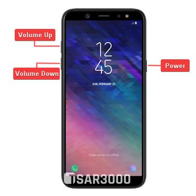 Samsung Galaxy A6 Hardware Keys