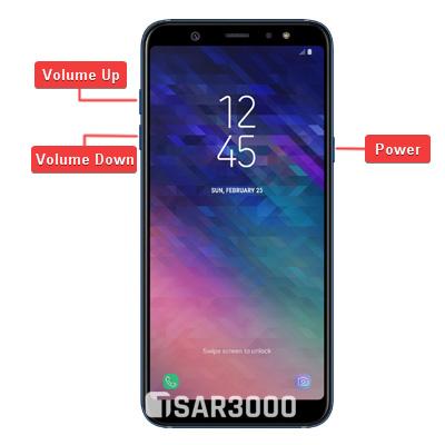 Samsung Galaxy A6 Plus Hardware Keys