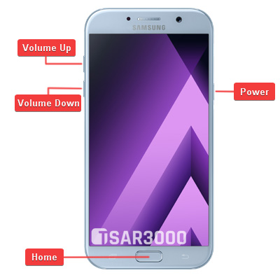 Samsung Galaxy A7 2017 Hardware Keys