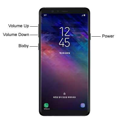 Samsung Galaxy A8 Star Hardware keys