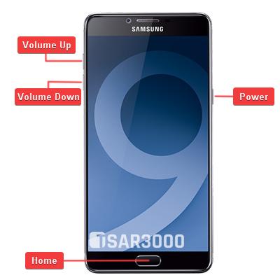 Samsung Galaxy C9 Pro Hardware keys