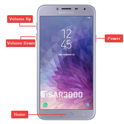Samsung Galaxy J4 Hardware Keys