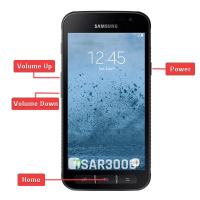 Samsung Galaxy Xcover 4 Hardware Keys