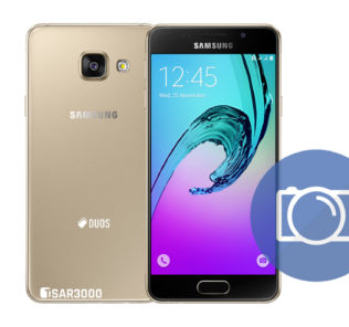 Take Screenshot Samsung Galaxy A3 2016