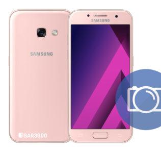 Take Screenshot Samsung Galaxy A3 2017