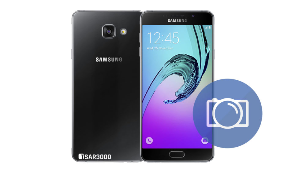 Take Screenshot Samsung Galaxy A7 2016