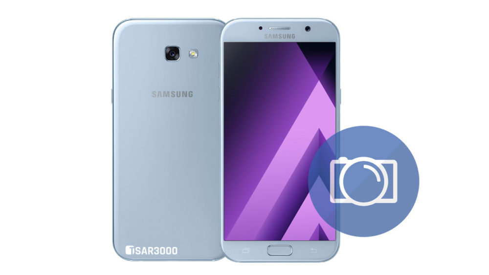 Take Screenshot Samsung Galaxy A7 2017