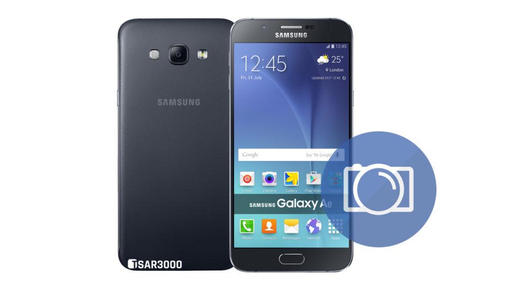 Take Screenshot Samsung Galaxy A8