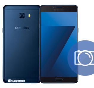Take Screenshot Samsung Galaxy C7 Pro