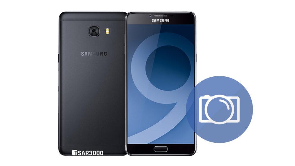 Take Screenshot Samsung Galaxy C9 Pro