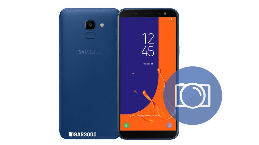 Take Screenshot Samsung Galaxy J6
