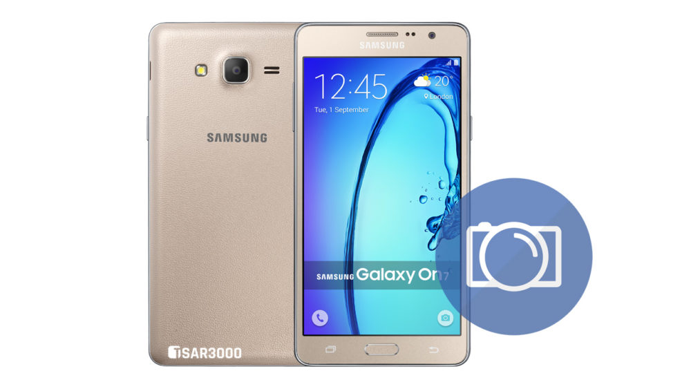 Take Screenshot Samsung Galaxy On7