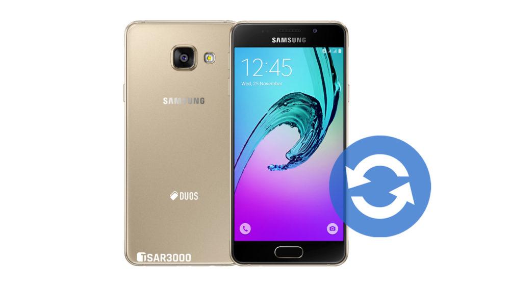 Update Samsung Galaxy A3 2016 Software