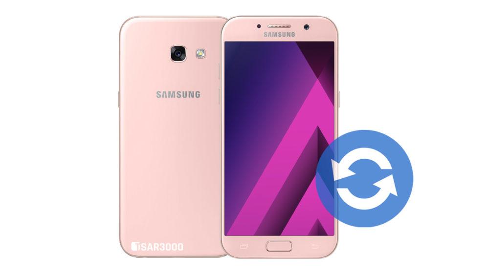Update Samsung Galaxy A5 2017 Software