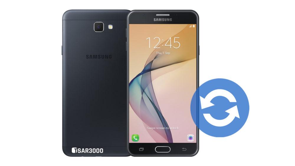 Update Samsung Galaxy J7 Prime 2016 Software