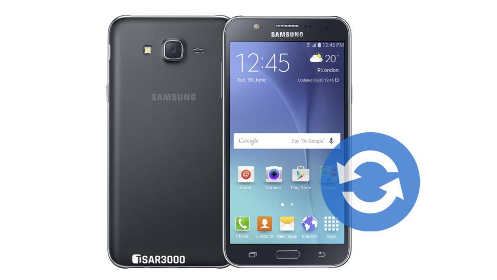 Update Samsung Galaxy J7 Software