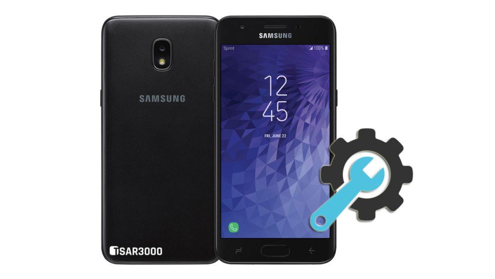 Factory Reset Samsung Galaxy J3 Achieve 2018