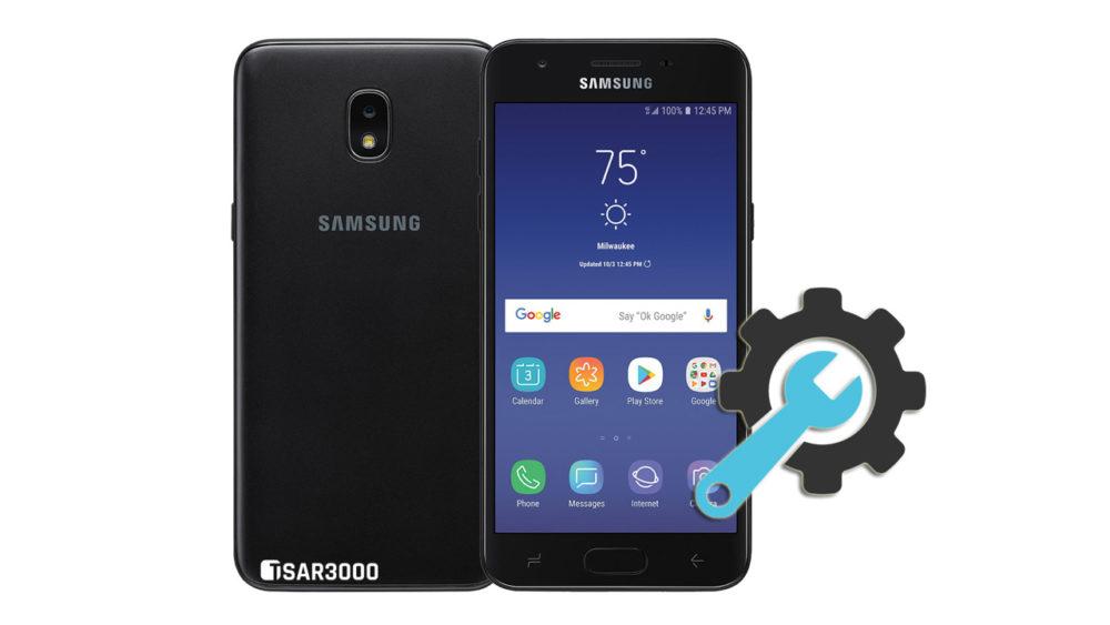 Factory Reset Samsung Galaxy J3 Aura
